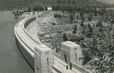 Wyangala Dam - First wall completed in 1935