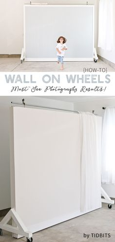 No picture perfect home . no problem. Catch the DIY tutorial and photo results for this dual sided Wall on Wheels photography and filming backdrop, which is key to our garage studio. studio DIY Wall on Wheels Photography Studio Decor, Photography Backdrops, Photography Studios, Photography Tips, Bridal Photography, Product Photography, Photography Business, Night Photography, Children Photography