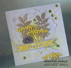 CRAFT STYLE - blog: Jarzębinowa kartka urodzinowa