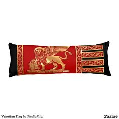 Venetian Flag Body Pillow