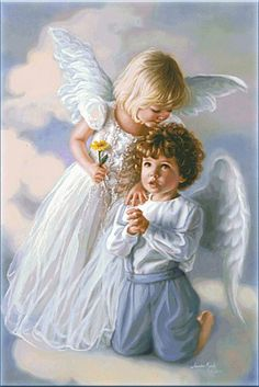 """""""Engle i MALERI"""" Sandra Kuck. Colouring Pages, Adult Coloring Pages, Coloring Books, Angel Prayers, I Believe In Angels, A Course In Miracles, Angel Pictures, Angels Among Us, Angels In Heaven"""