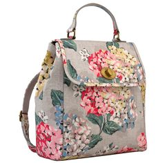 Hydrangea Turnlock Backpack | Further Reductions | CathKidston