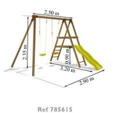 Robust Wooden Swing Frame For The Garden Swing Seats Can