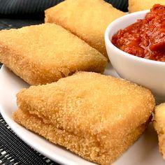 Mozzarella im Wagen {hashtags Fun Baking Recipes, Snack Recipes, Cooking Recipes, Amazing Food Videos, Cheesy Recipes, No Cook Meals, Mexican Food Recipes, Yummy Food, Mozzarella