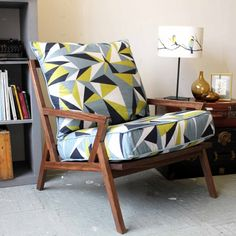 Bradbury Lounge Chair by Lorna Syson