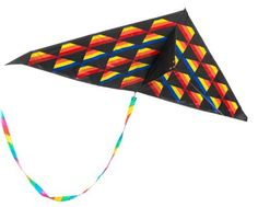 "50"" America II Delta Kite (076022801505) Dimensions: 29.5 in. H x 5.25 in. W x 1 in. D Weight: 0.88 ounces Made in CN"