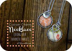 50  Inexpensive DIY Gift Ideas Custom Charm Necklace | 52mantels.com