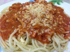 shrimp spaghetti... - who says i can't cook?!