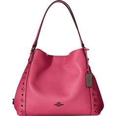 f900e287012d COACH Floral Rivets Detail Edie 31 Shoulder Gucci Handbags