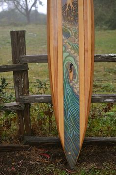 TAIYO SURFBOARDS ~ Hollow Wooden Surfboard