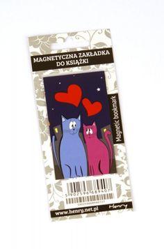 Zakładka magnetyczna. Koty  #książki #gadżety #zakładki  http://bookinista.pl/Zakladka-magnetyczna-Koty,p,122258