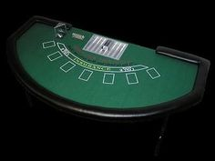 "Build Your Own Black Jack Table - Idea for fun times at the wedding!  Guests can ""buy-in"" and win chips for some sort of prize...money can go to honeymoon...use this instead of dollar dance???"