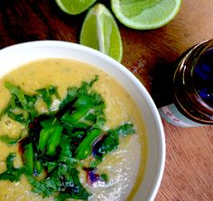 Ottolenghi's Thai red lentil soup #vegan #recipe #winter