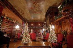 Biltmore House Library Christmas