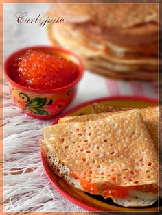 pancakes - best of the best ! sweet or hot, with cheese or marmelade, with speenach or meat, every is just perfect! :D