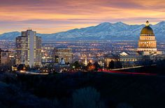 Salt Lake City, UT ~ 2003. Beautiful city