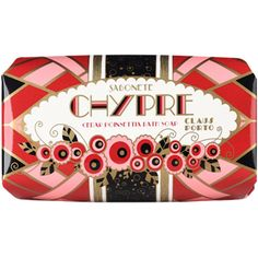 Claus Porto Chypre - Cedar Poinsettia Soap (¥1,435) ❤ liked on Polyvore featuring beauty products, bath & body products, body cleansers and claus porto