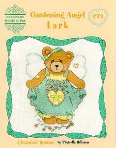 Lark (Cherished Teddies) - Cross Stitch Pattern