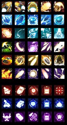 bomb by ji kexin on ArtStation. Game Gui, Game Icon, Game Ui Design, Icon Design, Game Concept, Concept Art, Sprites, Isometric Map, Elemental Powers