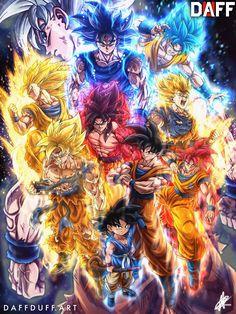 Goku's Twin Brother (Male xeno Goku reader x dbs tournament of power) - Chapter 4 Dragon Ball Gt, Dragon Ball Image, Goku All Forms, Wallpaper Do Goku, Broly Ssj4, Foto Do Goku, Dbz Wallpapers, Dragonball Evolution, Otaku