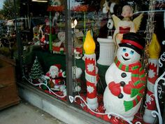 the good ol days of christmas decor - Old Time Christmas Decorations Outdoor