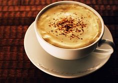 cup of coffee - no joke have around 5 cups a day (min). flat white no sugar, thanks
