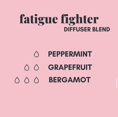 Fatigue Fighter Diffuser Blend- You are in the right place about aromatherapy logo Here we offer you the most beautiful pictures about the aromatherapy bottles you are looking for. When you examine the Fatigue Fighter Diffuser Blend- part of the[. Essential Oil Diffuser Blends, Essential Oil Uses, Doterra Essential Oils, Young Living Essential Oils, Bergamot Essential Oil, Diffuser Recipes, Living Oils, Melaleuca, Diffusers