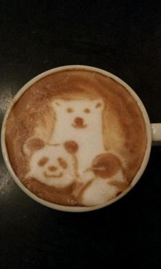 Beautiful coffee art examples (73)