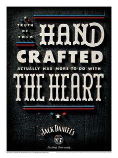 Carteles Jack Daniel's a la moda