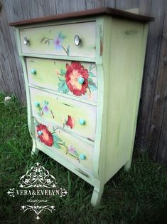 Vera & Evelyn Furniture.Life.Refined.Repurposed. Empire dresser Milk Paint