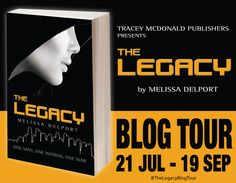 The Legacy Book Blog Tour starts on the 21st of July '14 - great fun!