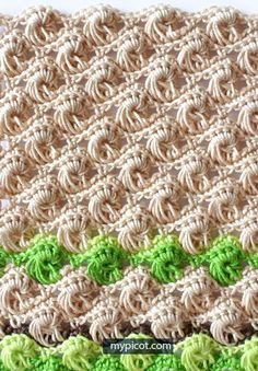 MyPicot is always looking for excellence and intends to be the most authentic, creative, and innovative advanced crochet laboratory in the world. Picot Crochet, Crochet Motifs, Crochet Stitches Patterns, Crochet Chart, Love Crochet, Crochet Designs, Stitch Patterns, Knitting Patterns, Unique Crochet Stitches