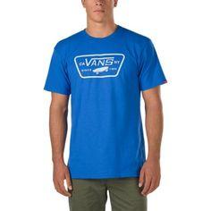 e29cd88367 Full Patch T-Shirt QN8KRQ Royal-Frost Grey  Vans Patch Tshirt