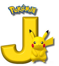 Abecedario de Pikachu de Pokémon. Pikachu Alphabet. - Oh my Alfabetos! Brother Birthday, 8th Birthday, Happy Birthday, Alphabet, Pokemon Party Supplies, Pikachu Drawing, Super Mario Birthday, Gaspard, Edible Printing