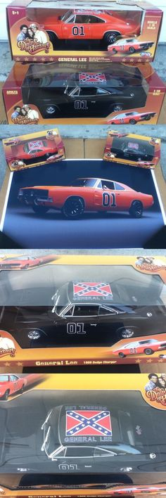 Dukes of Hazzard 20908: Dukes Of Hazzard General Lee 1 18 Diecast Car Lot (1)Black (1)Original + Poster -> BUY IT NOW ONLY: $249 on eBay!