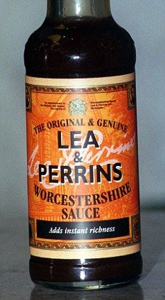 LEA  PERRINS One day I will have to give this a try even if it doesn't have how to make it just the ingredients