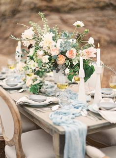 "Table settings that wow: <a href=""http://www.stylemepretty.com/2015/11/19/wedding-table-settings-that-make-for-a-beautiful-reception/"" rel=""nofollow"" target=""_blank"">www.stylemepretty...</a>"