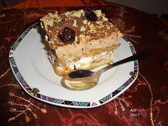 Αρώματα και Γεύσεις: Τούρτα νηστίσιμη με σαβαγιάρ της Χρύσας Tiramisu, French Toast, Cooking, Breakfast, Cake, Ethnic Recipes, Desserts, Google, Risotto