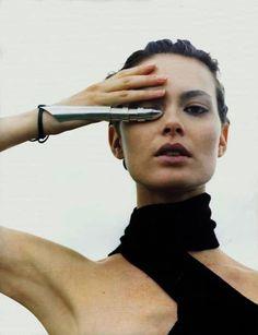 80s-90s-supermodels:    i-D, October 1998Photographer: Carter SmithModel: Shalom Harlow
