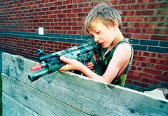 guns america photos | Why boys should be allowed to play with toy guns | Mail Online