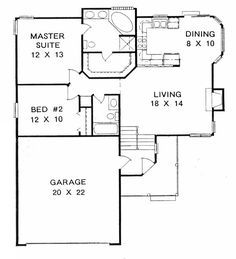 This Pleasing Multi Level Or Split Level Home With A Small Footprint Has  Over 1000 Sq Ft Of Living Space. The One Story Floor Plan Includes 2  Bedrooms. Room ...