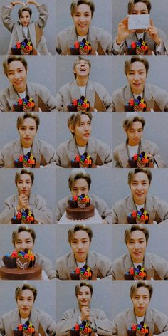 Wallpaper Stickers, Pink Wallpaper, Yang Yang, Winwin, Taeyong, Jaehyun, Nct 127, Birthday Wallpaper, Cute Korean Boys
