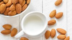 Can you substitute almond milk for milk? In short: yes. Find out how to use this dairy-free milk substitute while baking and how to make almond milk at home. Almond Oil Uses, Make Almond Milk, Homemade Almond Milk, Patisserie Vegan, Healthy Drinks, Healthy Recipes, Healthy Foods, Almond Benefits, Almond Breeze