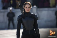 """""""...Effie taps my shoulder, and I step out into the cold winter sunlight."""" - Katniss Everdeen, #MockingjayPart2"""