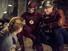 The Flash Season 2 - Jay Garrick and Barry Allen