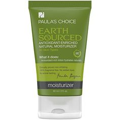 Paulas Choice Earth Sourced Antioxidant Enriched Natural Moisturizer for Sensitive Skin  2 oz -- Find out more about the great product at the affiliate link Amazon.com on image.
