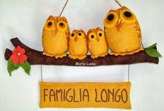 gufo family famiglia Longo