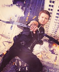 Hawkeye. Best part of the whole movie in my humble opinion