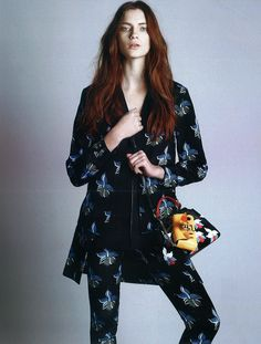 A Fendi Spring/Summer 2015 look featured in Style: Singapore