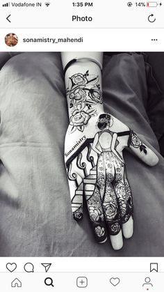 Best 12 Vacation mode onnnnnn ……… in henna. Stylish Mehndi Designs, Bridal Henna Designs, Dulhan Mehndi Designs, Beautiful Henna Designs, Latest Mehndi Designs, Mehndi Designs For Hands, Mehndi Tattoo, Henna Tattoo Designs, Henna Mehndi
